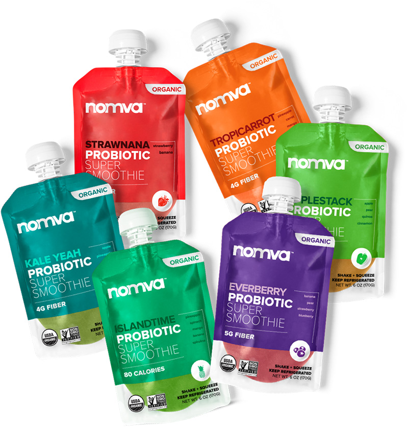 Live Nomva Smoothie Packs
