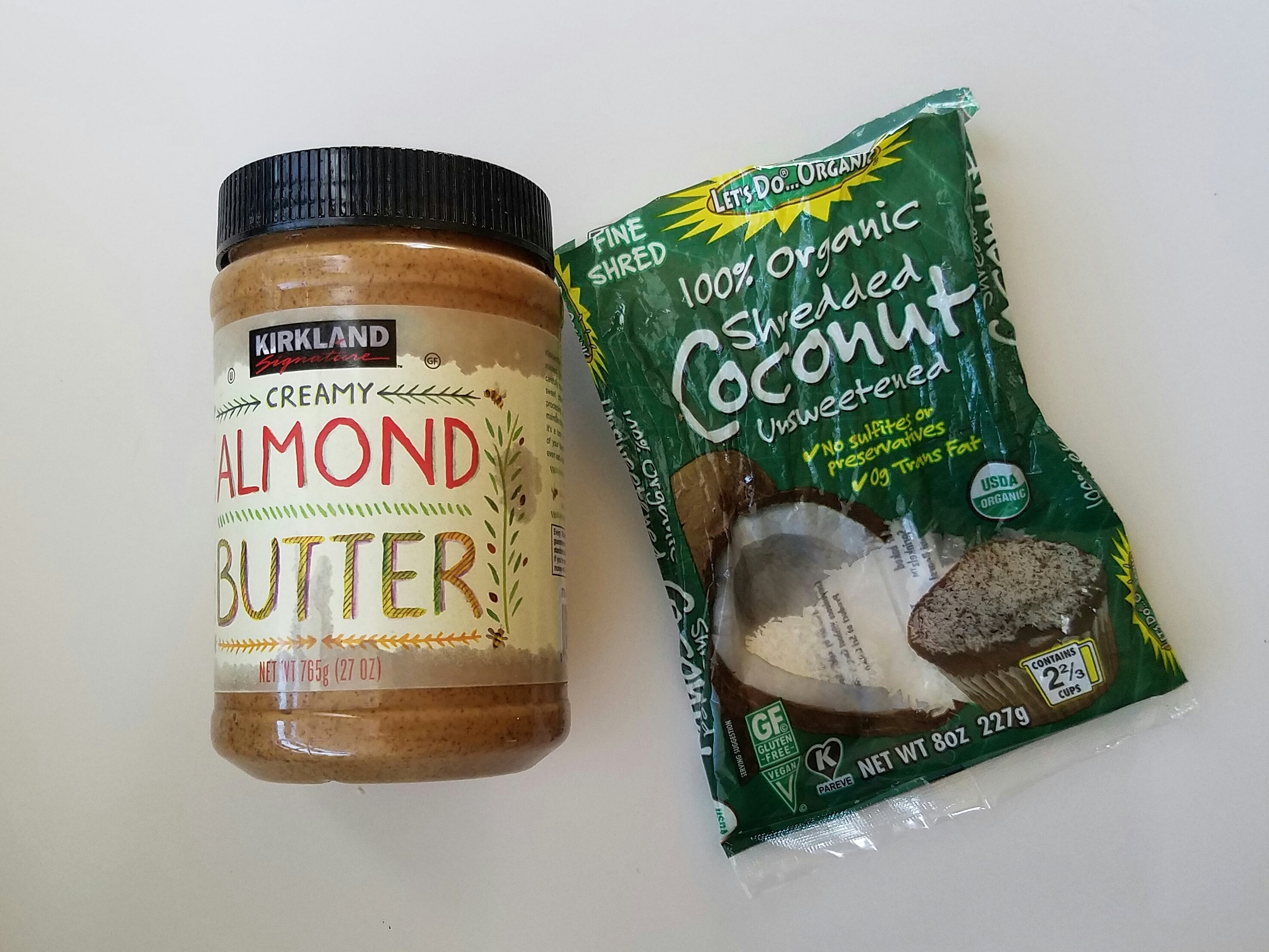 almond coconut bar ingredients