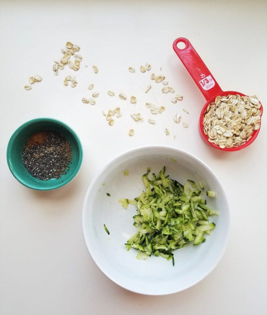 zucchini stovetop oatmeal