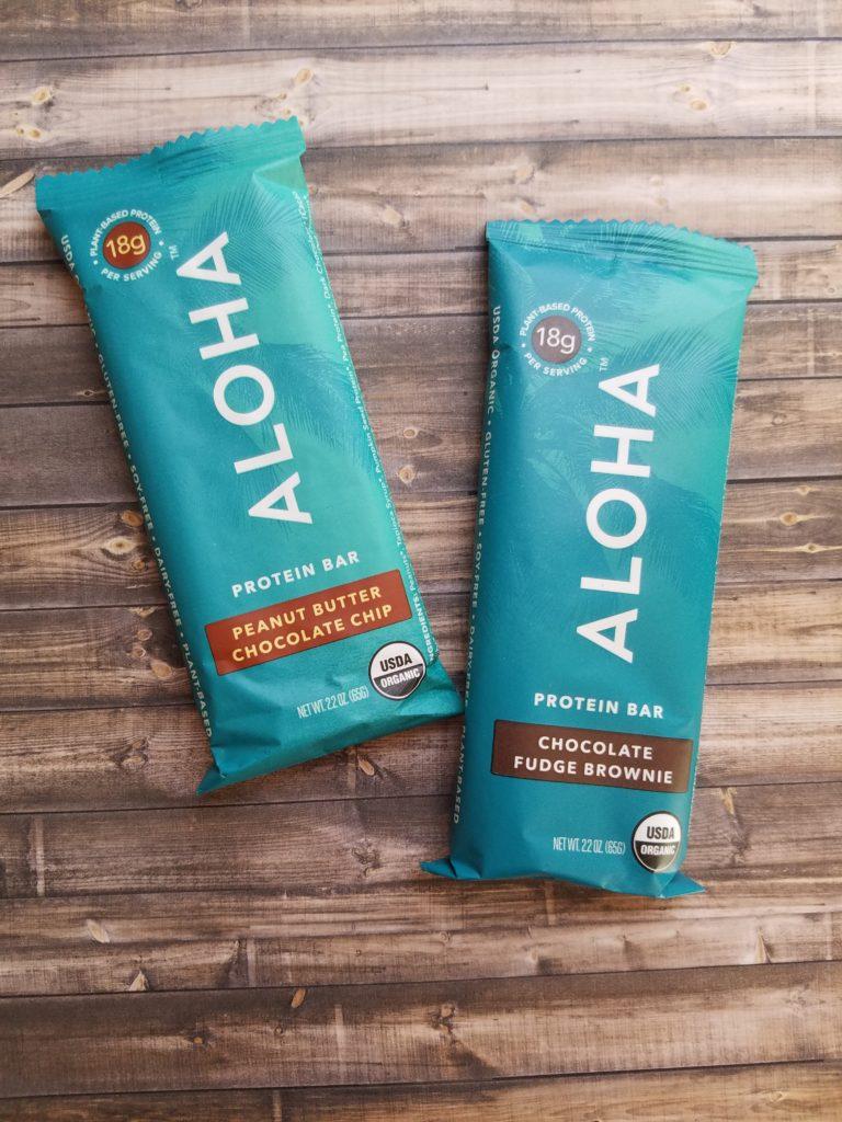 aloha protein snack bars