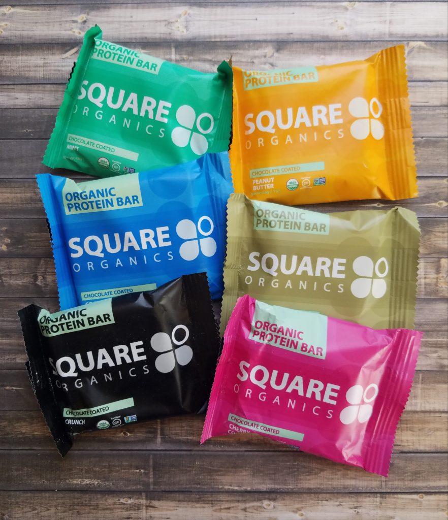 squareorganics snack bars