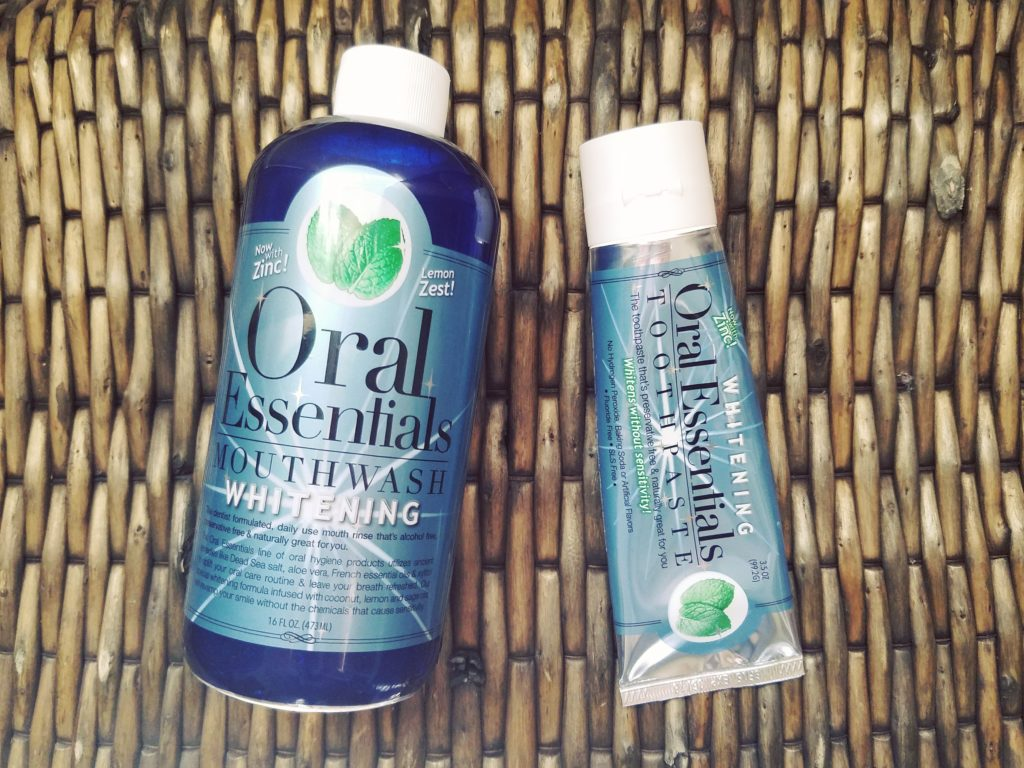 oral health care routine and products