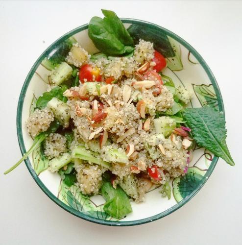 mediterannean quinoa salad